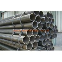 China Electronic Fusion Welded EFW Cold Rolled Steel Pipe For Oil , Gas Transportation wholesale