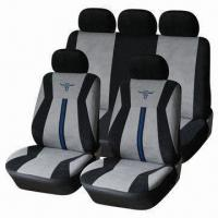 China Car Seat Cover Sporty Style, Made of Soft Velor, Stylish and Chic Design wholesale
