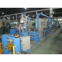China Flexible Wire Extruder Machine , Sheathed Wire Cable Extrusion Machine wholesale