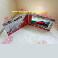 Quality Custom Lcd Video Catalog Advertising Video Brochure with usb port for sale
