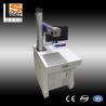 China Fiber Laser Marking Machine 20w Stainless Steel Flange Engraving Date Number Marking wholesale