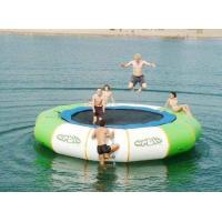 China Inflatable Trampoline, Water Bouncer, Soft Jumping wholesale