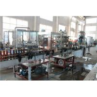China 370ML Glass Bottle Carbonated Drink Filling Machine , Beer Bottle Capping Machine wholesale