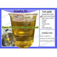 China Steroid Oil based injection Gear Oxymetholone / Anadro 50 Semi-Finished Oil For Bodybuilding wholesale