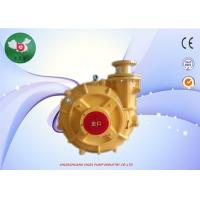 China ZGB Sea Water Horizontal Centrifugal Slurry Pump For Mining Solid Particles wholesale