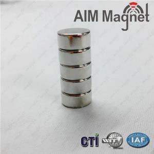 China Dia 4 x 4.5mm Thick Neodymium (Rare Earth) Disc Neodymium Magnets on sale