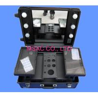 China Custom Makeup Organizer Case , Large Makeup Case With Lights And Mirror wholesale