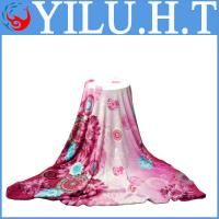 China 2014 new brand colored soft flower coral baby fleece baby blanket bedsheets wholesale