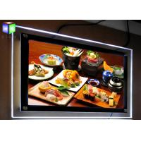 Quality Ceiling Hanging LED Photo Display Light Box Poster Import Acrylic Panel Double Side for sale