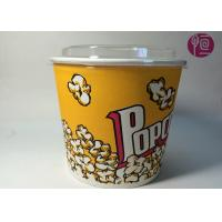 Buy cheap 85oz Double PE Coated Neutral Ripple Paper Cups With Plastic Lid from wholesalers