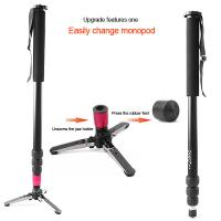 Quality New Alloy Camera Camcorder portable monopod MF-4 for sale