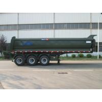 China 22 Wheels Dump Truck Trailer Flatbed Dump Truck With FAW Tractor Head on sale