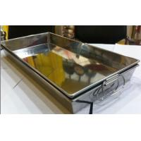 China Stainless Steel Storage Tray tray Stackable Tray wholesale