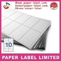 China Label Dimensions: 105mm x 59.4mm Software Compatible Codes: DPS10 A4 labels wholesale