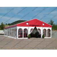 China Colorful Waterproof Alumunium PVC Tent with Church Windows or Plain White Sidewalls for Ceremony / Party / Conference wholesale