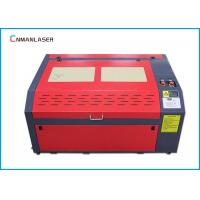China 6040 Mini Cnc Paper Greeting Wedding Card Laser Cutting Machine Water Cooling wholesale