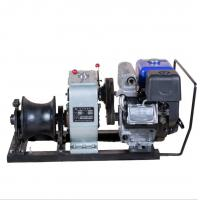 China Custom Engine Powered Winch / 5 Ton Cable Wihch With YAMAHA Engine wholesale