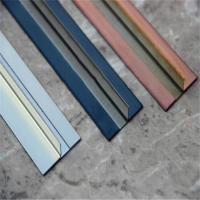 China Brushed Finish Stainless Steel Angle U Shape Trim 201 304 316 wholesale