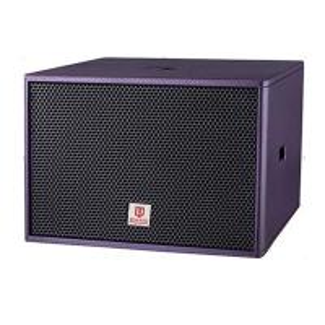 China club subwoofer single 18'' woofer 800W RMS purple color bass karaokes mini speaker box power loudspeaker sound audio on sale