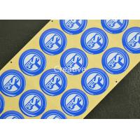 China Top Class PP Waterproof Epoxy Doming Badges Resin Epoxy Logo Badges wholesale