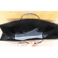 China Reusable Hard Plastic Handle Bag With Reinforced Paper Card wholesale