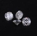 China Loose Moissanite / Diamond Moissanite Super Brilliant Cushion Shape 6.5mm VVS Clarity wholesale