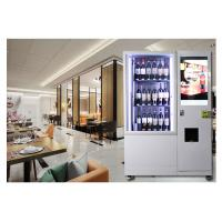 China Automatic Combo Juice Beer Wine Vending Machine For Drink In Supermarket on sale