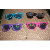 Buy cheap diffraction 3d fireworks glasses flip style CE FCC RoHS from wholesalers