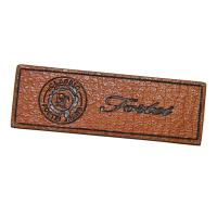 China Personalized Logo Embossed Custom Leather Patches biodegradable wholesale