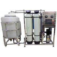 China 500lph RO Water Treatment System With Storage Tank / UV / Ozone Well Water Treatment Machine wholesale
