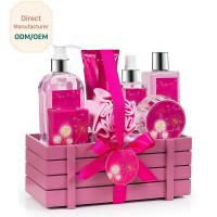 China Princess Aromatic Body Care Bath Gift Set / Shower Gift Sets For Women wholesale