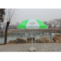 China Handle Open Advertising Round Outdoor Umbrella With 210D Oxford Fabric wholesale
