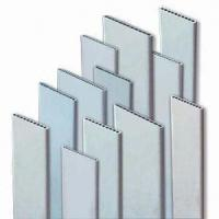 3003 / 3102 Heat Exchanger Aluminum Extruded Tubing with Flat Oval Shape For Radiators Manufactures