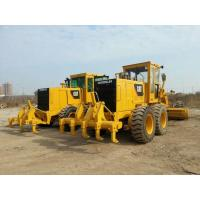 China Used road construction equipment secondhand CAT 140H motor grader with ripper on sale