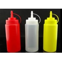 China 240ml, 360ml, 480ml, 680ml Crowded jam bottle, Squeeze the bottle for Tomato sauce jam and butter wholesale