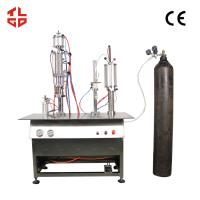 Canned Fresh Air / Canned Oxygen Spray Filling Machines Manufactures