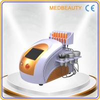 Quality 650nm diode laser& lipo laser slimming&cavitation rf vacuum body shape and weight loss for sale