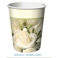 China Fashion paper drink cup wholesale