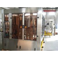 China Electric Carbonated Beverage Filling Machine For Round PET Bottle , CE ISO Listed wholesale