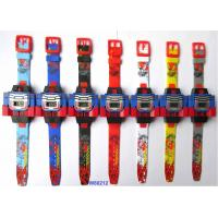 China PLASTIC ROBOT LCD WATCH wholesale