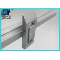 China Double Tracks Scalable conveyor Aluminum Tubing Joints Prevent Flow Back Lock Opposite Movement wholesale