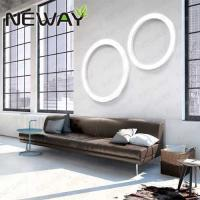 Quality Modern circle led wall light fittings for hotel wholesale modern architectural decorative house led wall lamp for sale