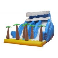 China Durable Commercial Inflatable Water Slides Tropical Rain Forest Themed on sale