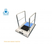 China Cold Water Cleaning SS304 Shoe Sole Cleaner Machine For Cleanroom wholesale