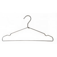 China Economical Anti Slip Heavy Duty With Swing Arm Chrome Wire Hangers wholesale