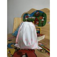 Recyclable Plastic Drawstring Bags ,  Large Gift Bag Drawstring Travel Pouch