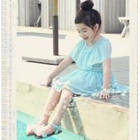 China 2014 Girls dress chiffon princess dress wholesale children