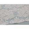 China Ivory Sequin Lace Fabrics , Embroidered Bridal Lace Fabrics For Wedding Dresses wholesale