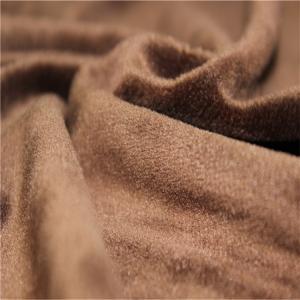 China Blanket Micro Velboa Fabric Warp Knitting Velour Terry Cloth Fabric on sale