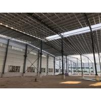 China C Section Large Span Steel Structures , Pre Engineered Steel Structures on sale